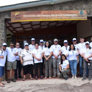 Termina con éxito el Intercambio de Experiencia y conocimientos en manejo de Recursos Naturales y Áreas Marinas  Protegidas entre  el Consejo Directivo del Mar RAPA NUI y Galápagos.