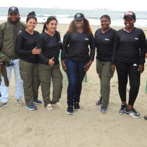 WildAid entrega indumentaria de protección marina a 190 Guardaparques Marinos de la Red de Áreas Marinas Costeras Protegidas del Ecuador