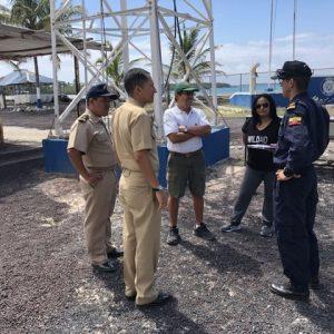 Equipo de DPNG, DIRGIN y WildAid realiza inspecciones para instalación de sistema de monitoreo AIS en Capitanías de Puerto de la Provincia de Galápagos.