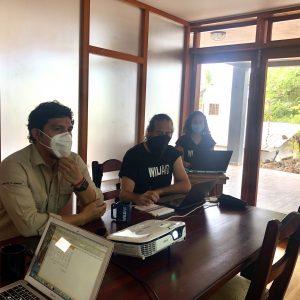Reunión de arranque de Proyecto UNESCO entre DPNG y WildAid