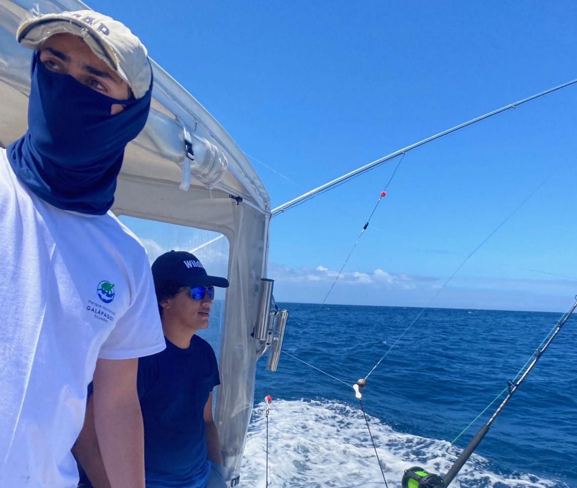 Se implementó fase piloto de monitoreo integral de ecosistemas de Aguas Abiertas en la Reserva Marina de Galápagos