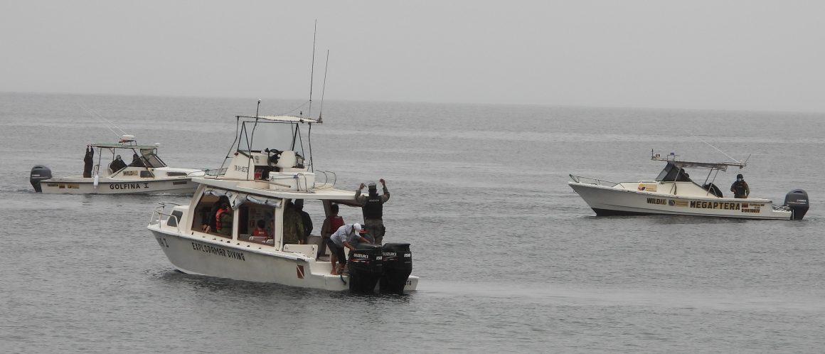 SE FORTALECE LA COOPERACIÓN PARA LA PROTECCIÓN MARINA DE ÁREAS PROTEGIDAS EN MANABÍ