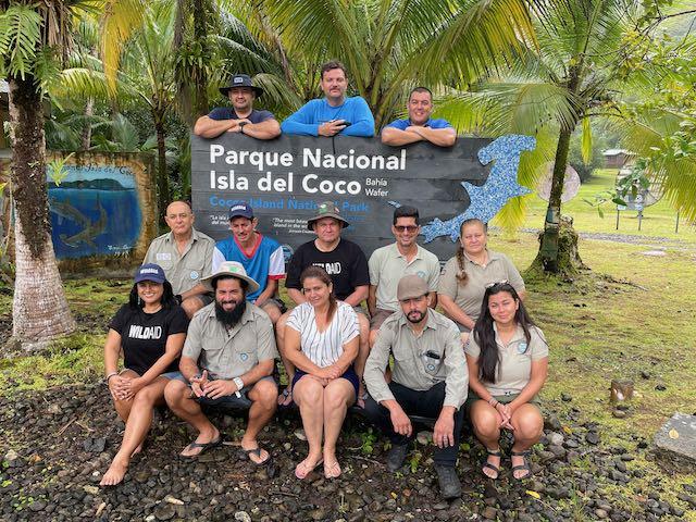 Iniciamos Cooperación para el Cuidado y Protección del Parque Nacional Isla del Coco